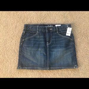 NWT Girls Gap Jean Skirt Size 14